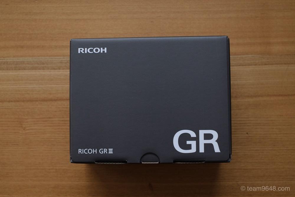 RICOH GR3 開封