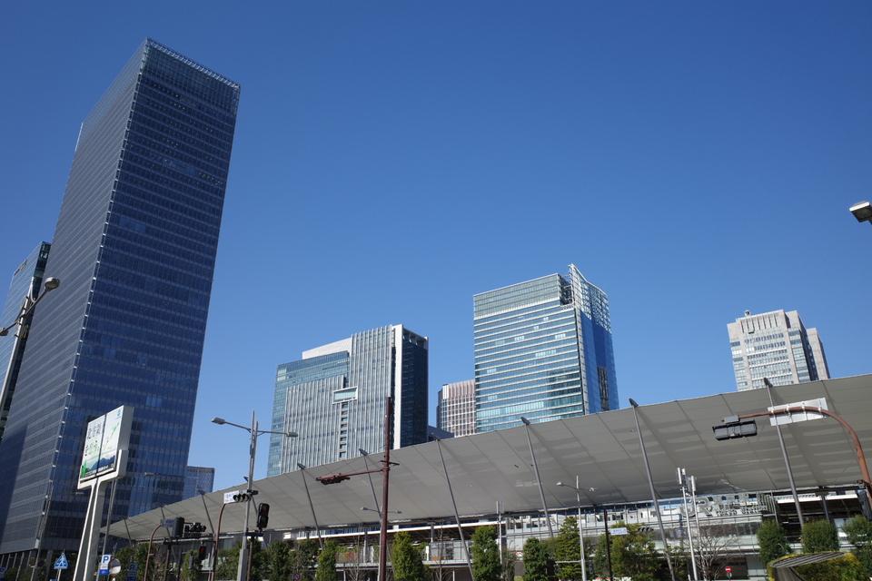 GR3 作例 晴天 東京駅