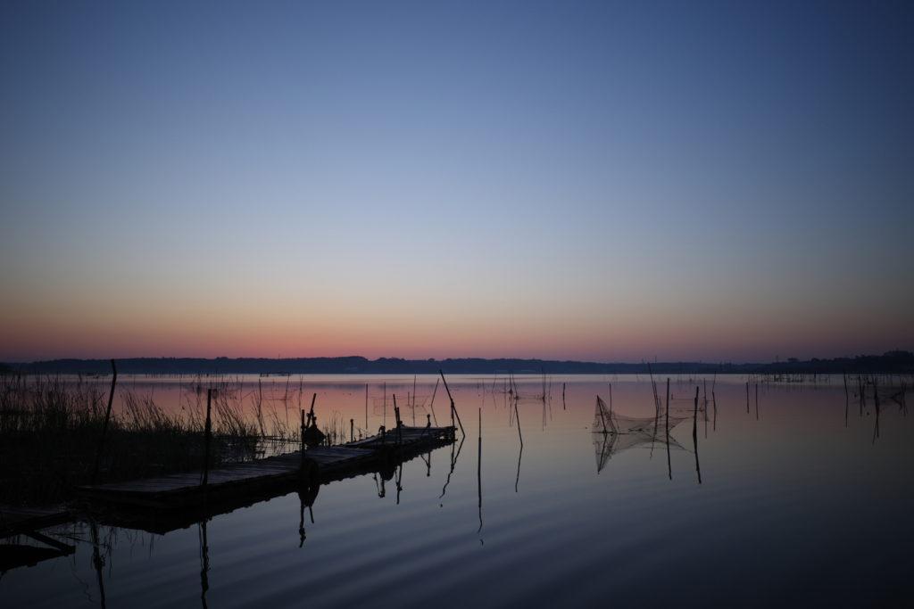 RICOH(リコー) GR3で撮る風景の作例。印旛沼の朝日を撮ってきた。(イメージコントロール:スタンダード)
