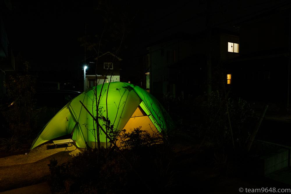 キャンプにもぴったり。mont-bell(モンベル)の大定番「ムーンライトテント」5型をレビュー。