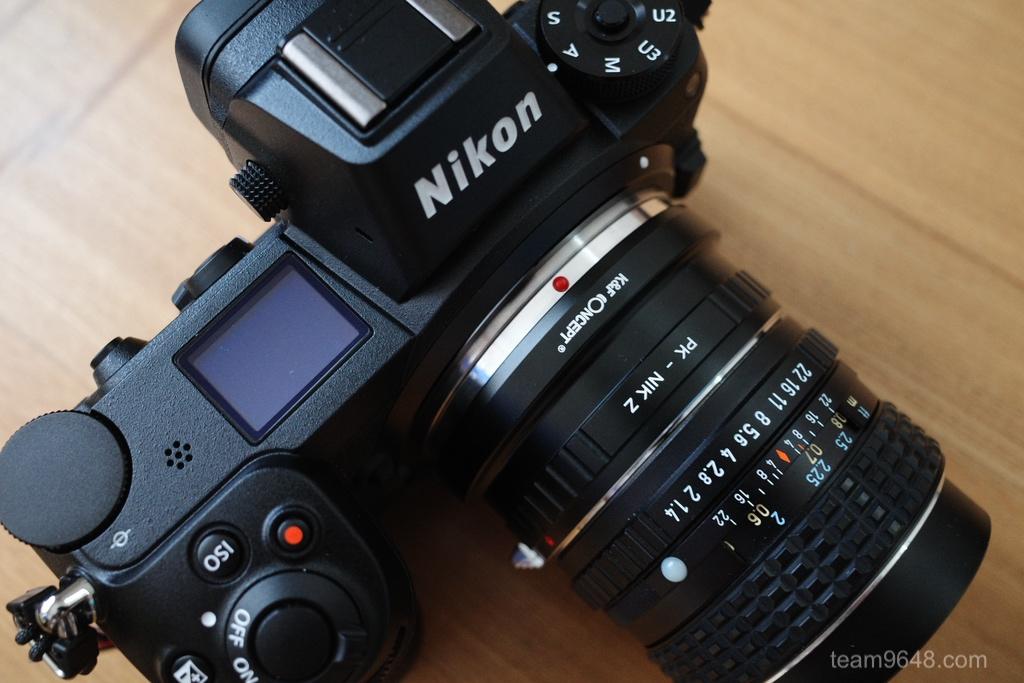 Nikon Zマウントでオールドレンズ遊び(smc PENTAX-M 50mm F1.7)