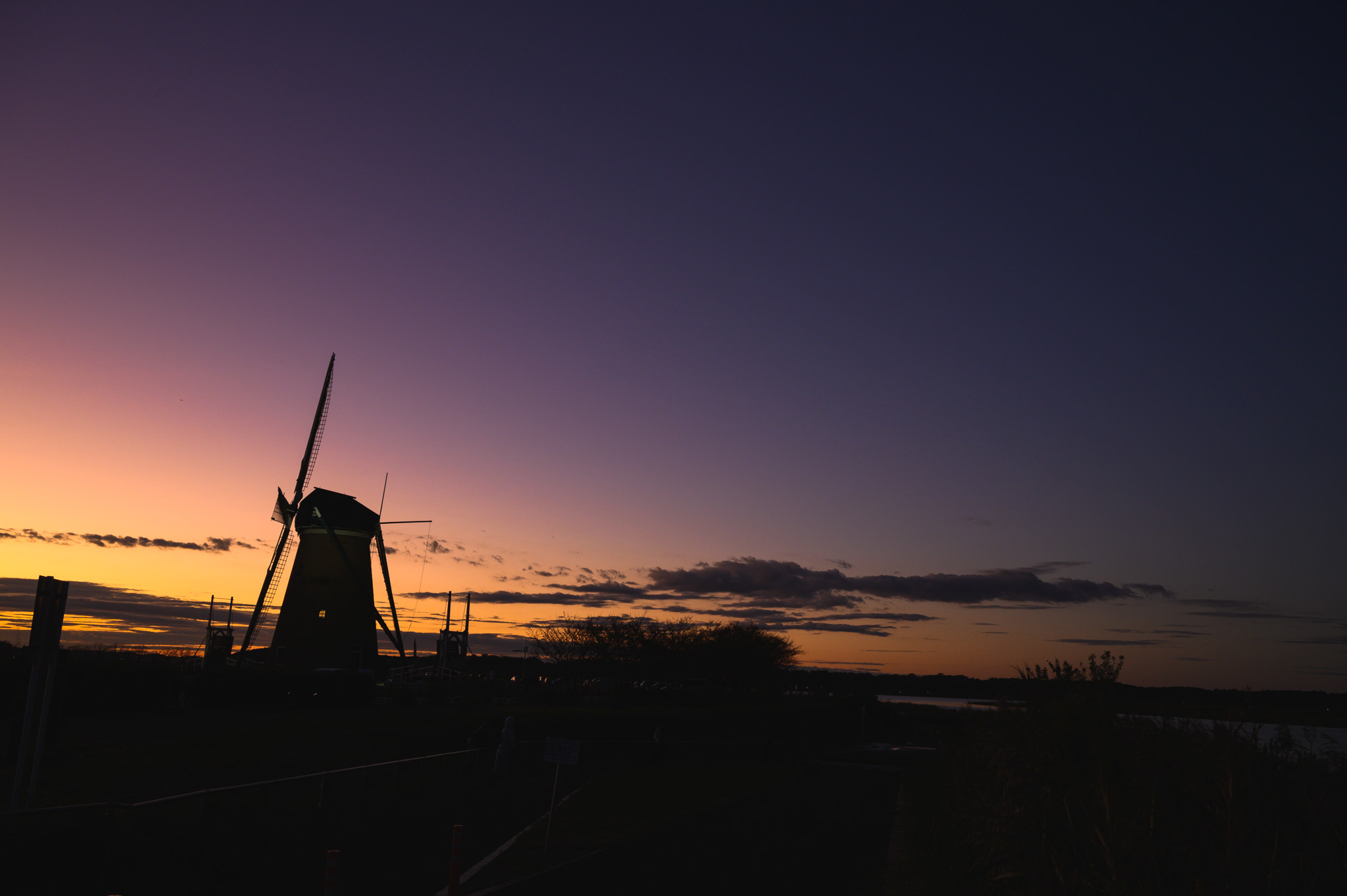 Nikon Z6で撮った佐倉の夕陽