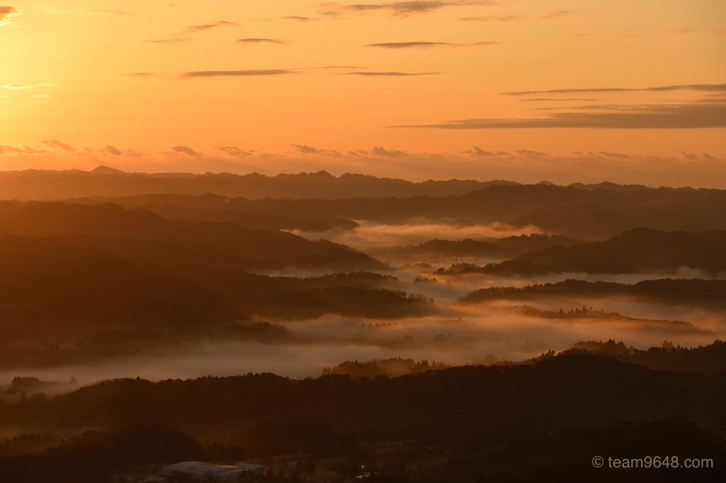 鹿野山の雲海