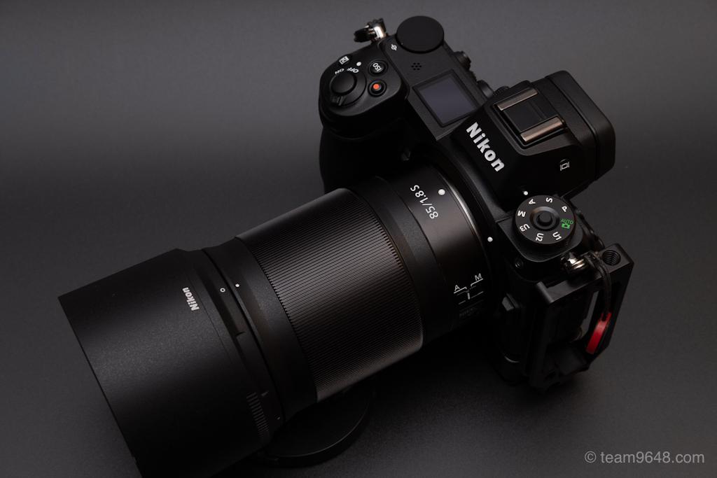 Nikon Z6/Z85mmf1.8