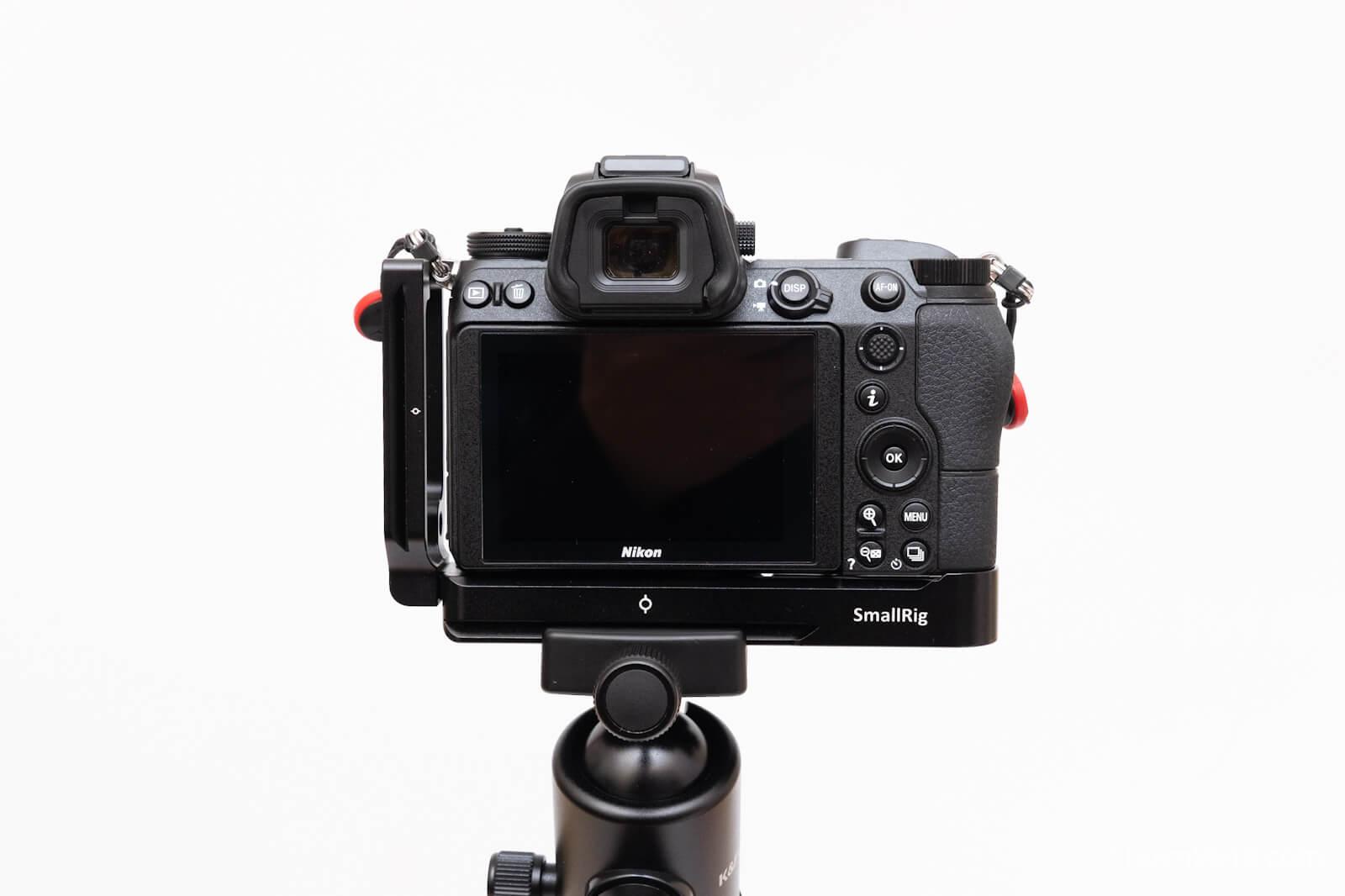 【レビュー】SmallrigのLブラケット 2258(Nikon Z6/Z7用)
