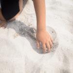 稲毛海浜公園 白砂