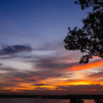 印旛沼 夕景 サンセットヒルズ