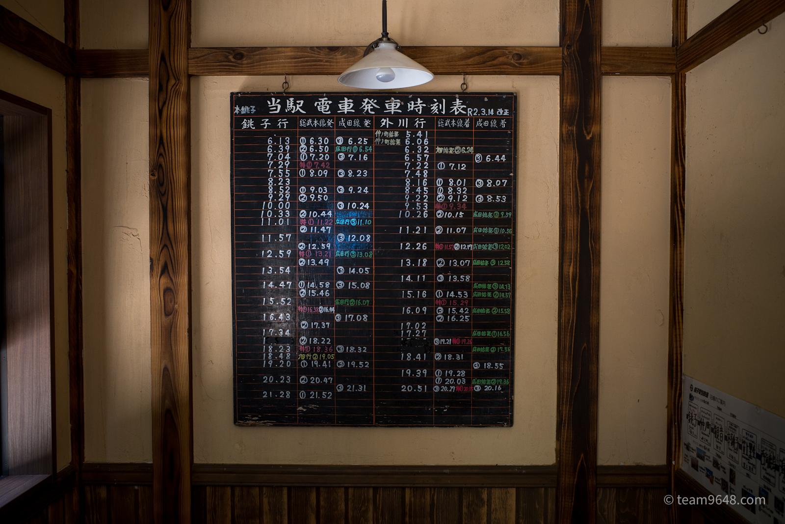 銚子電鉄 本銚子