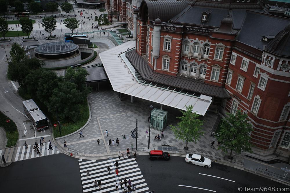 東京駅 俯瞰 GR3