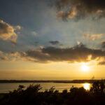 印旛沼サンセットヒルズ 夕景